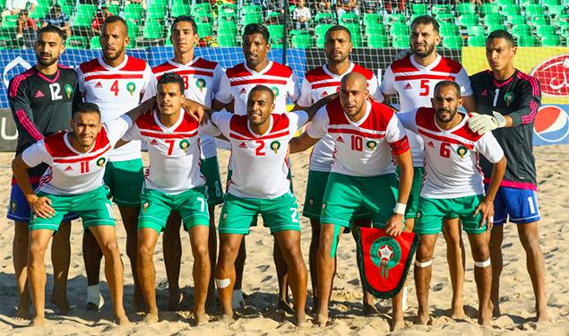 منتخب-الشاطئية-المغربي-يعسكر-في-السنغال