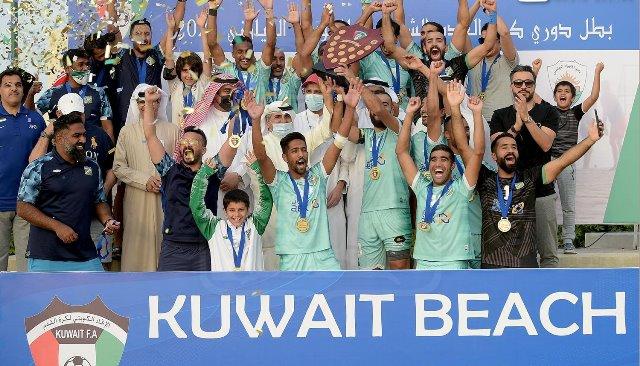 العربي-الكويتي-يتوج-بلقب-الدوري